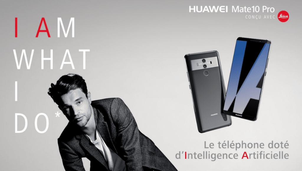 Prix du Huawei Mate 10 Pro avec un forfait mobile