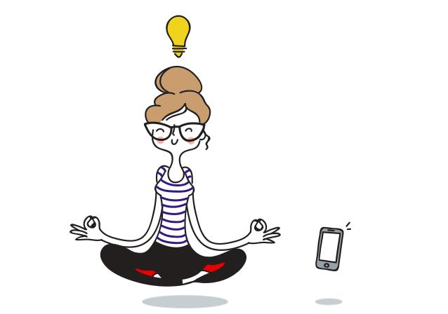 Un environnement zen avec La Poste Mobile.