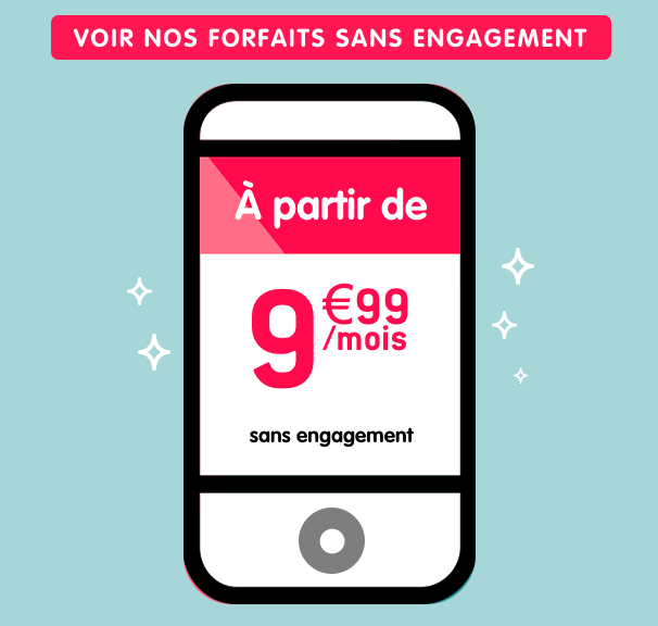 Les offres sans engagement de NRJ Mobile.