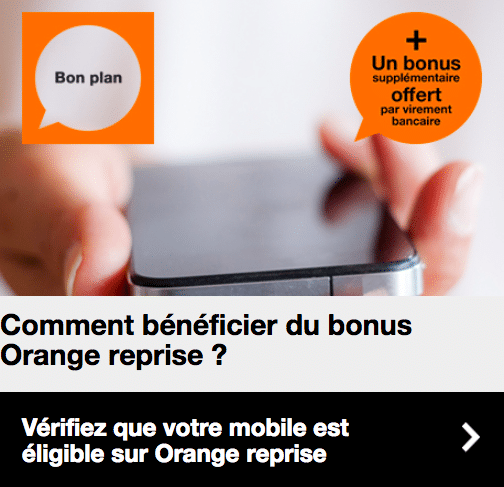 Orange bonus reprise