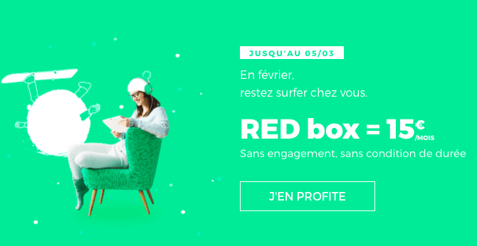 RED SFR box internet