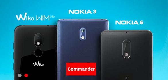 Quelques smartphones en promotion avec SFR.