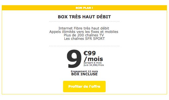Les box internet de La Poste Mobile sont aussi en promotion.