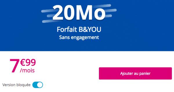 Quel forfait bloqué choisir chez Bouygues Telecom ?