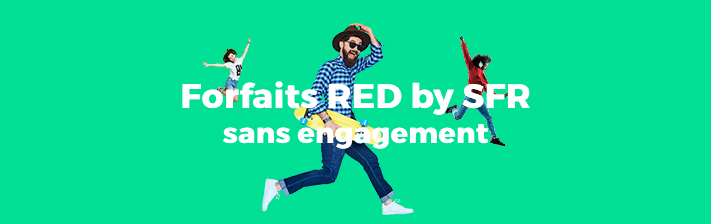Les forfaits mobiles de RED by SFR