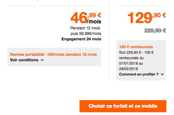 Quel prix pour le Galaxy S8 chez Orange ?