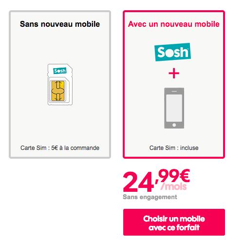 Quel forfait choisir pour un Galaxy S9 au meilleur prix chez Sosh ?