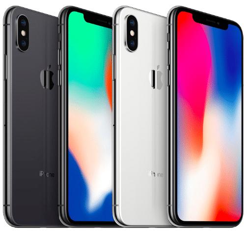 L'iPhone X est proposé avec un forfait La Poste.