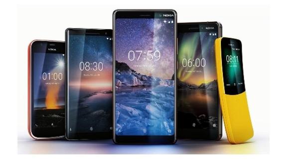 Les nouveaux smartphones de Nokia.