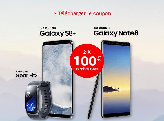 Jusqu'à 100 euros remboursés sur le Samsung Gear Fit2