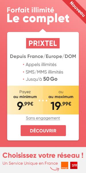 Forfait Le Complet Prixtel 5 Go
