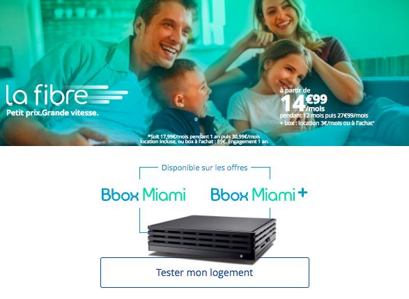 La Bbox Miami de Bouygues Télécom.