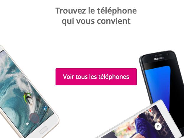 Choisir un smartphone avec Bouygues Télécom.