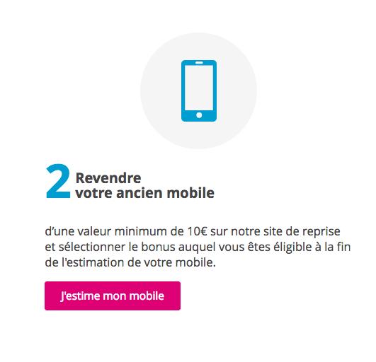 Revendre son smartphone avec Bouygues Télécom.