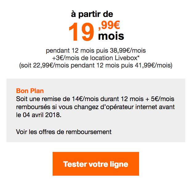 Orange box internet