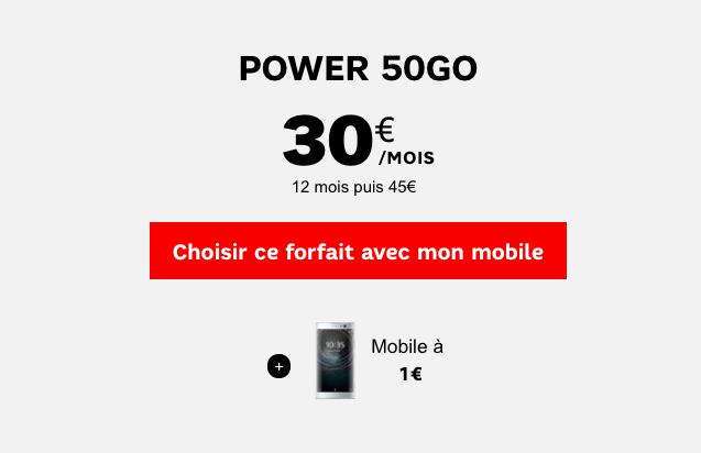 SFR 50 Go
