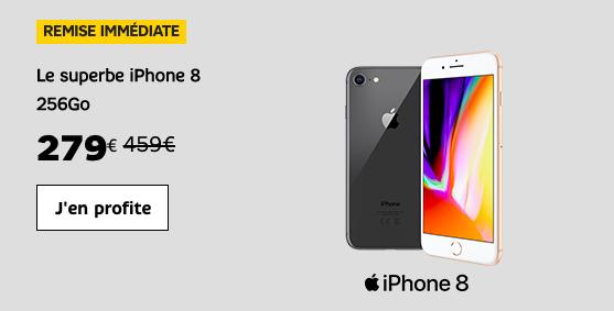Choisir l'iPhone 8 avec SFR.