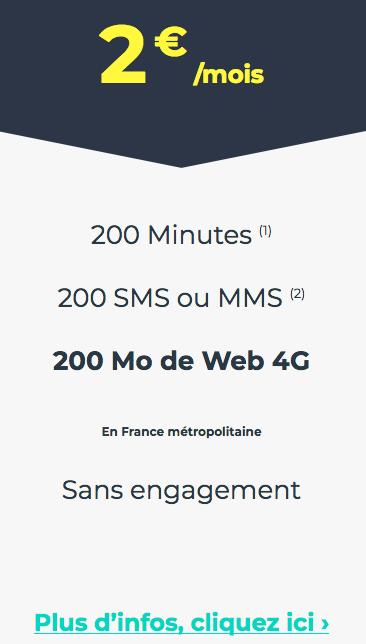 CDiscount Mobile permet d'acquérir un forfait sans engagement à bas prix.