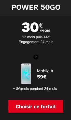 Le Sony Xperia XZ 2 ou Compact est disponible à bas prix chez SFR.