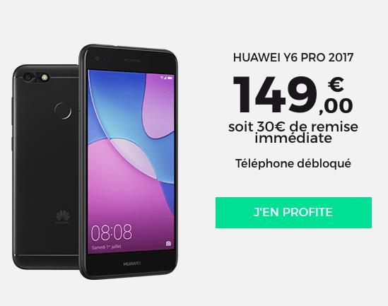 Un smartphone de Huawei disponible chez RED by SFR.