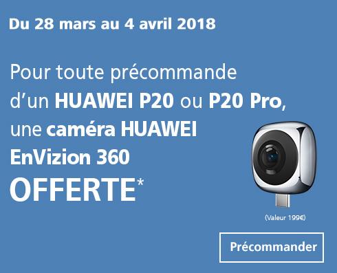 Profitez du Huawei P20 en précommande chez Orange.
