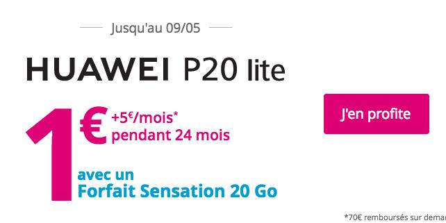 Huawei P20 Lite Sensation 20 Go