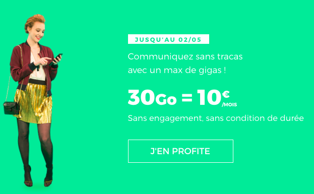 L'offre promotionnelle de RED by SFR.