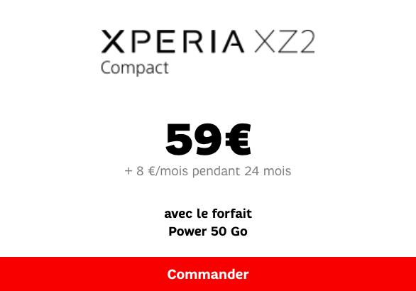 XZ2 Compact SFR