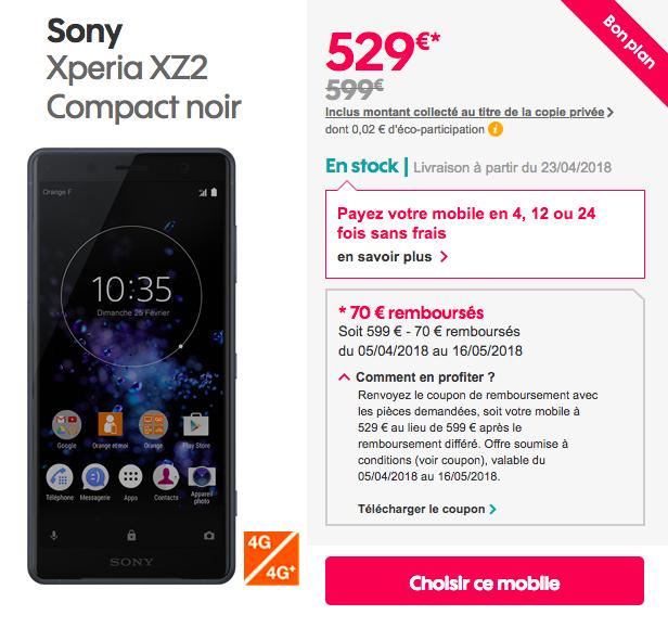 XZ2 Compact Sosh