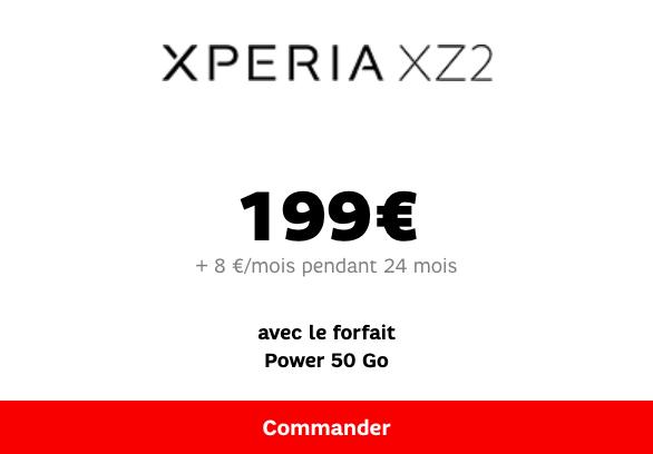 Xperia XZ2 SFR