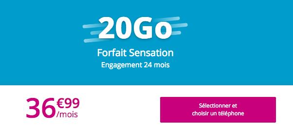 La sensation d'une promotion de Bouygues Télécom.