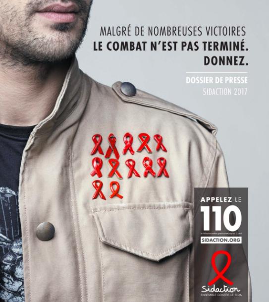 campagne de lutte contre le sida.