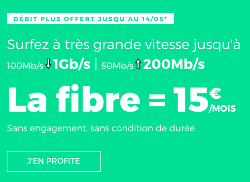 La box internet de RED by SFR disponible à petit prix.