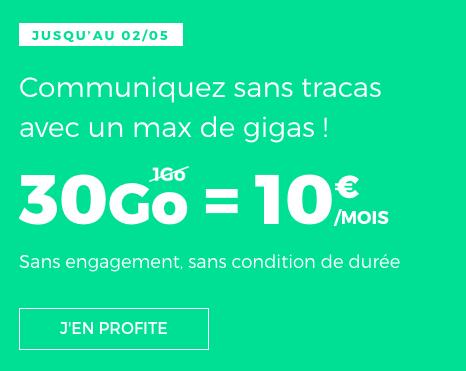 30 go d'Internet, c'est ce qui attend les adhérents au forfait RED by SFR.