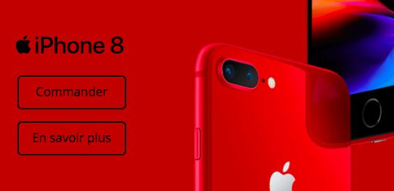 Choisir l'iPhone 8 RED avec Bouygues Télécom.