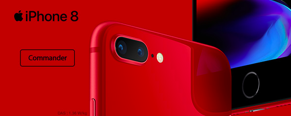 Opter pour un iPhone 8 RED avec Orange.