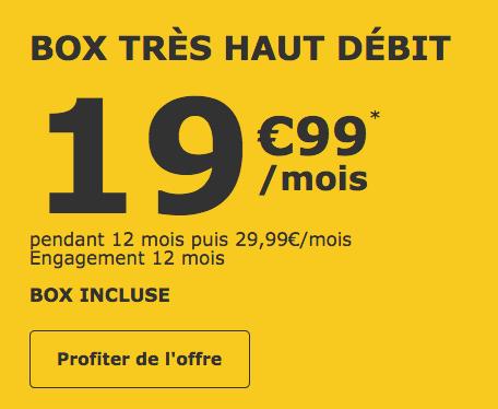 La box internet de La Poste Mobile.
