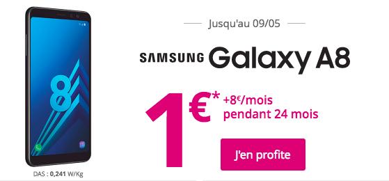Bouygues telecom galaxy A8