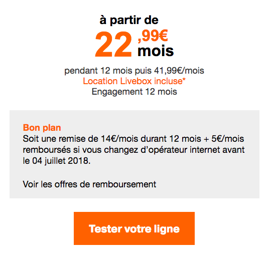 La box internet Zen d'Orange.