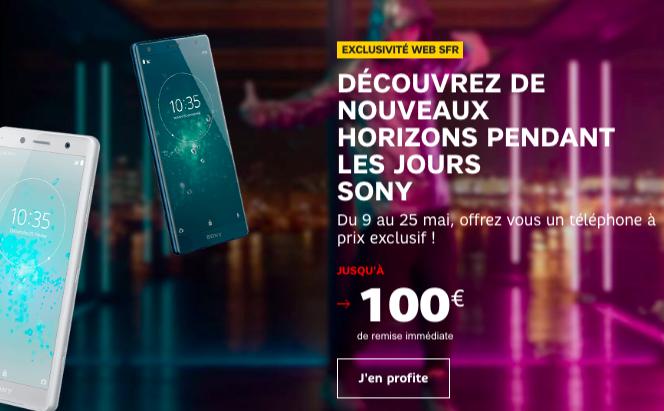Les jours Sony de SFR.