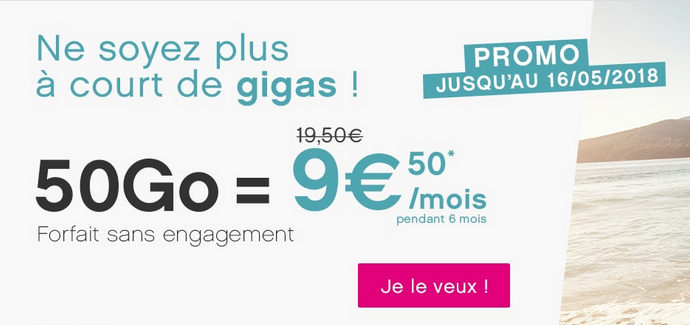 Le forfait mobile de Coriolis Télécom.