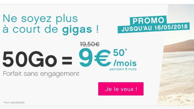 Le forfait de Coriolis Telecom.