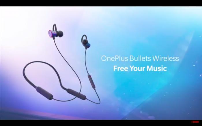 Les écouteurs OnePlus Bullets Wireless.