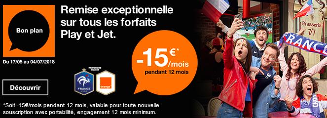 Les offres avec smartphone d'Orange.