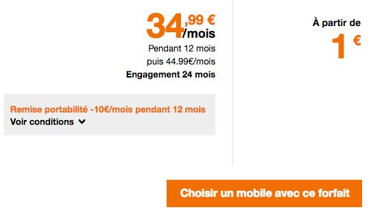 Le forfait Play 30 Go d'Orange permet d'acquérir les smartphones de Sony à des tarifs préférentiels.