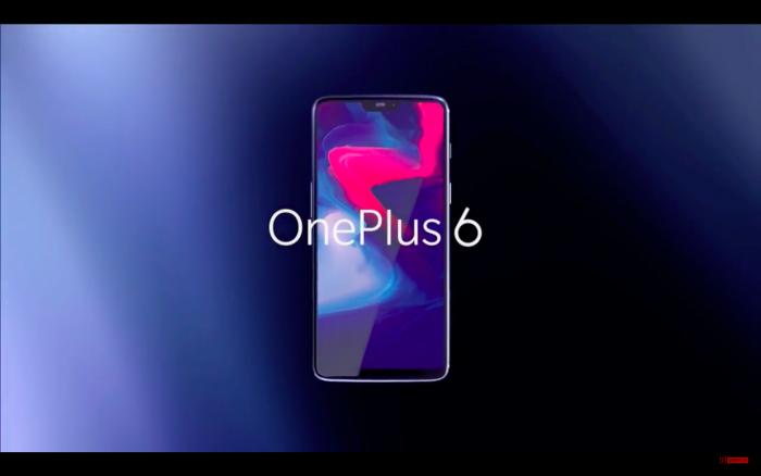 Le OnePlus 6 a été présenté aujourd'hui.