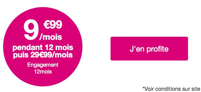 La promo sur le forfait Bouygues Telecom Sensation 50 Go.