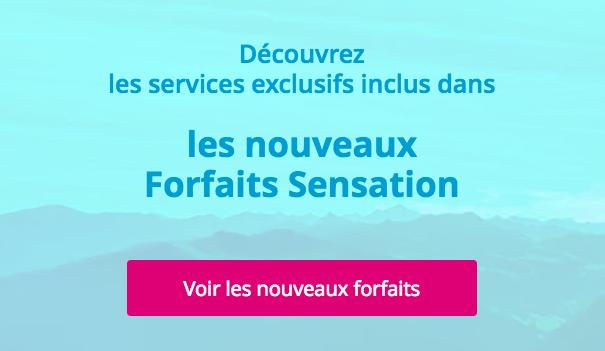 Les forfaits Sensation de Bouygues Télécom.