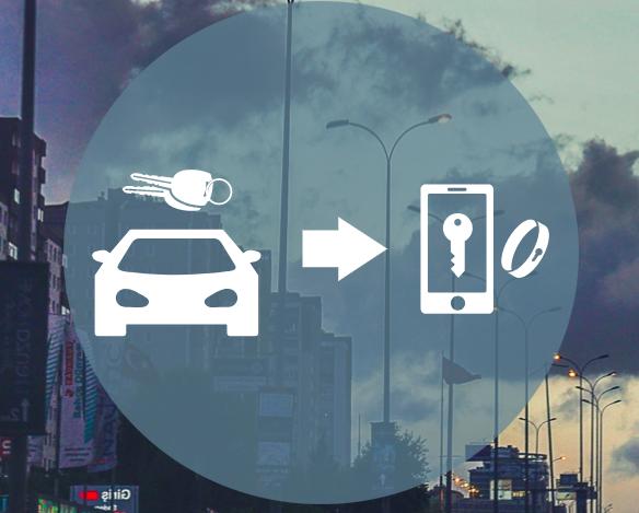 Le CCC développe le Digital Key 1.0 pour ouvrir sa voiture avec son smartphone