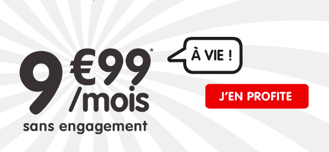 20 Go à 9,99 euros avec NRJ Mobile.